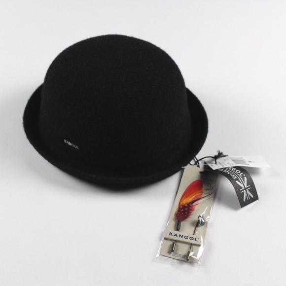 54791d83533 New Kangol Medium Wool Bombin Bowler Derby Hat Cap